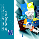 Manual d'exemples de catalogació - MEC (CD-ROM)