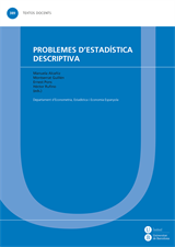 Problemes d'estadística descriptiva
