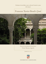 Honoris Causa Francesc Xavier Bosch i José (eBook)