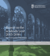 Report on the academic year 2015-2016