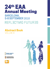 24th EAA Annual Meeting (Barcelona, 2018) - Abstract book (eBook), volume 1