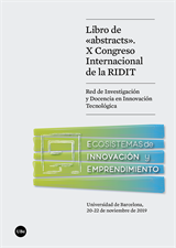 Libro de «abstracts». X Congreso Internacional de la RIDIT (eBook)