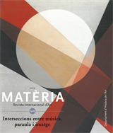 Matèria. Revista internacional d'Art 14-15